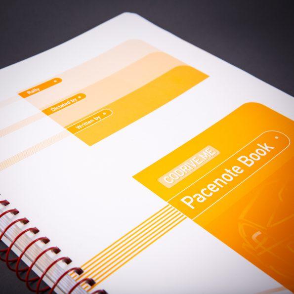 Pacenote book – Vertical